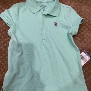 NWT Ralph Lauren Polo Shirt girls